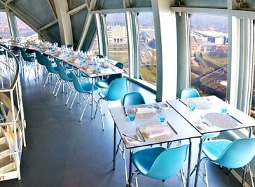 Atomium Restaurant in Brussels